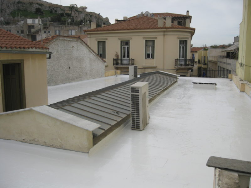 Waterproofing Polyurethane coating two component