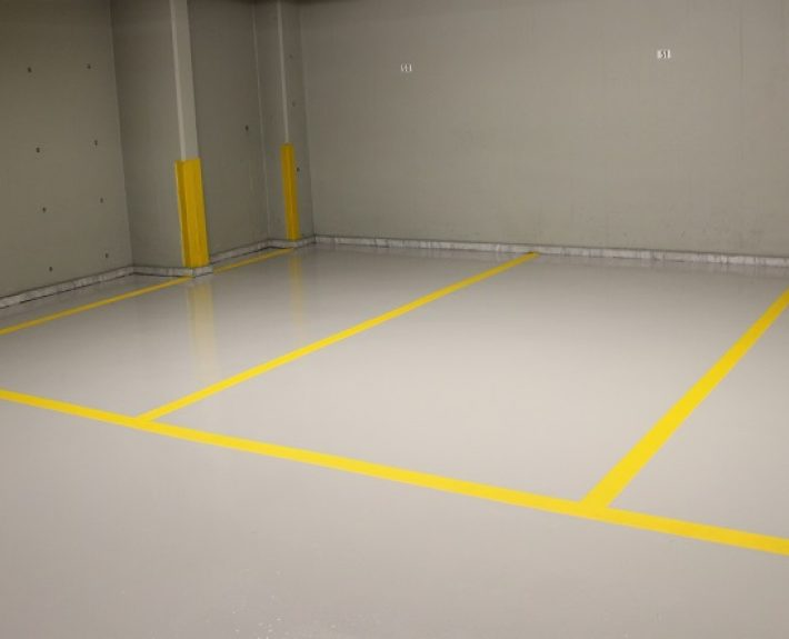 Indoor Carpark Flooring with Ktisopur