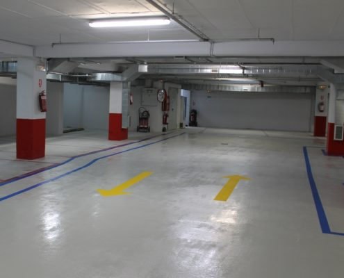 Epoxy Floor for Car Park