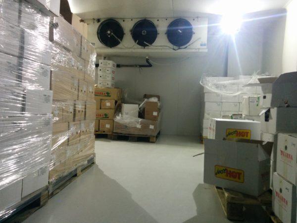 Ktisopur SL εφαρμογή σε θάλαμο κατάψυξης
