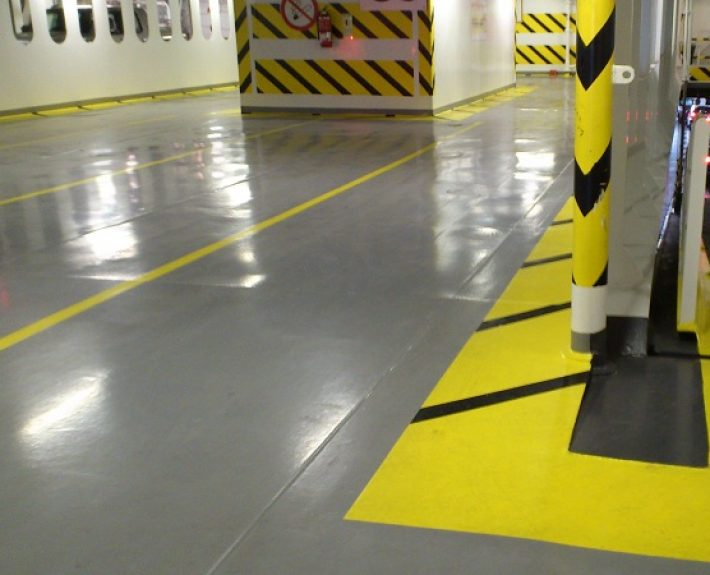 Ktisopur Application in indoor ship deck
