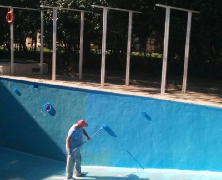 Βάψιμο πισίνας